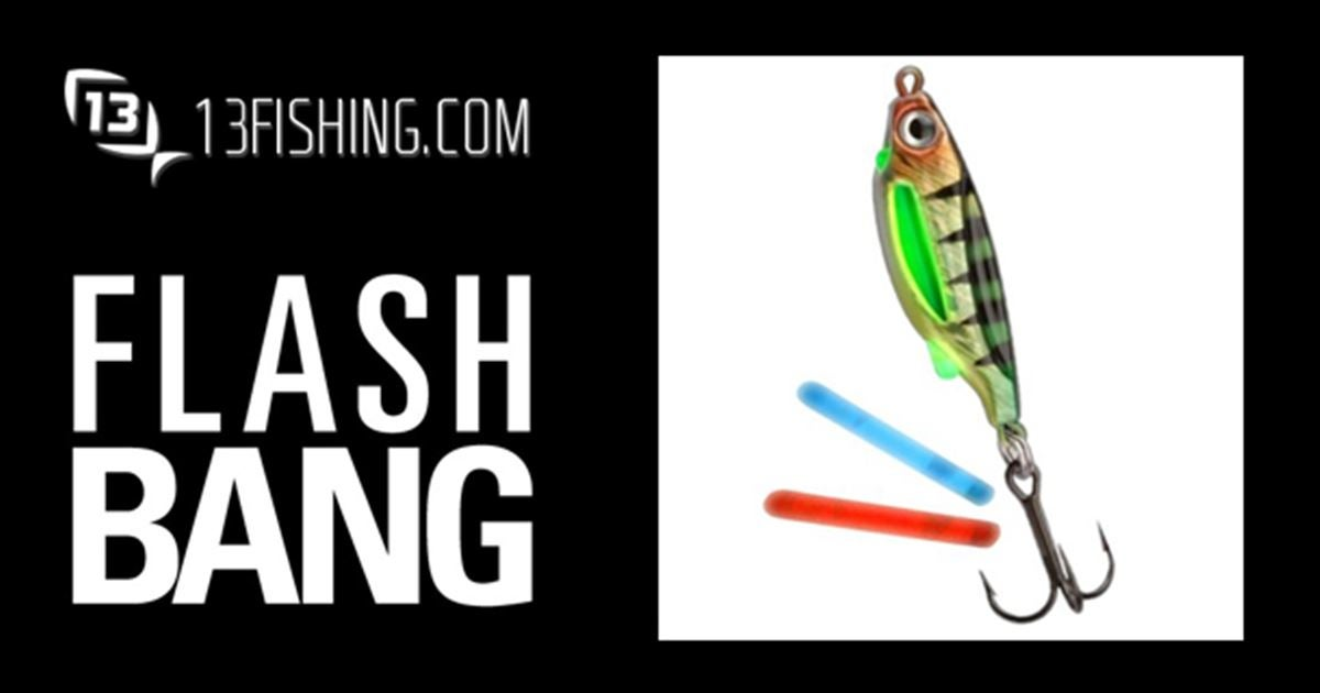 13 fishing flashbang spoon giveaway for Free fishing tackle giveaway