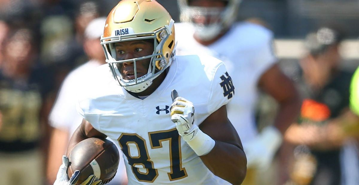 Cole Kmet the motivation Notre Dame's Michael Young needed