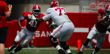 Young defensive players step up on A-Day in veterans' absence