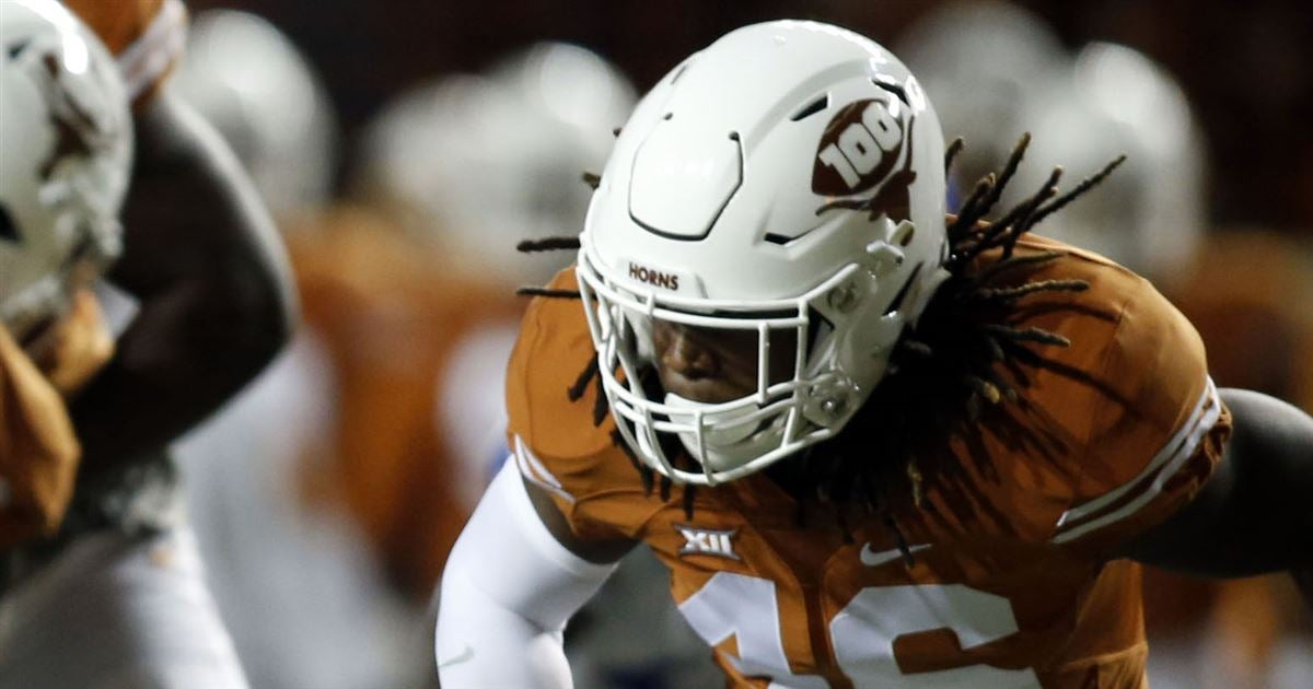 Texas LB Jefferson being slowed by continuous stomach ailment Horns247