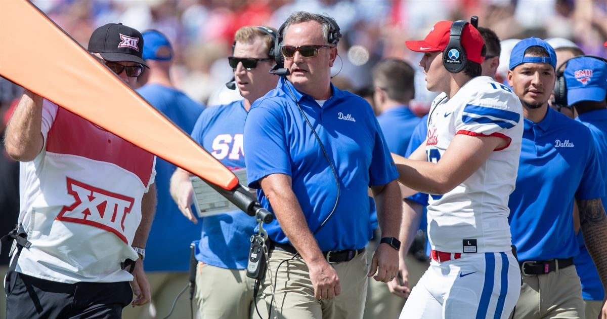 Sonny Dykes talks SMU's win over Temple