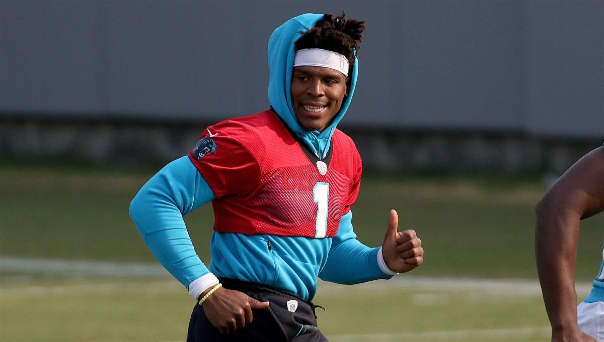 57c17565ae3 Carolina Panthers announce Cam Newton will throw at minicamp