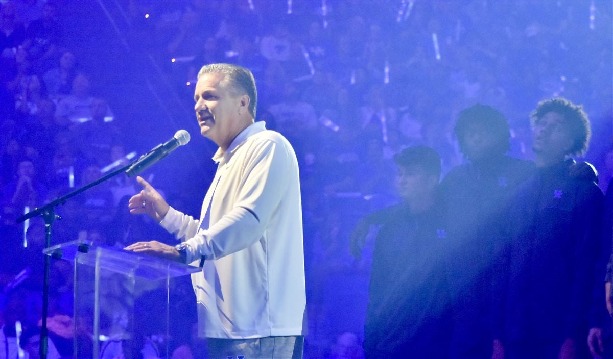Calipari boasts program success to Big Blue Madness crowd