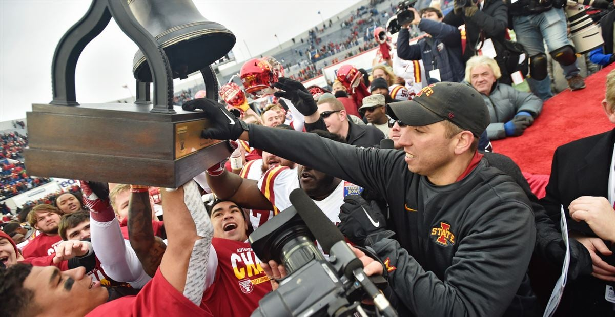 How Matt Campbell is keeping Iowa State focused after success