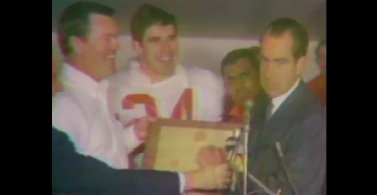 Texas looks back at 1969 National Championship win vs. Arkansas