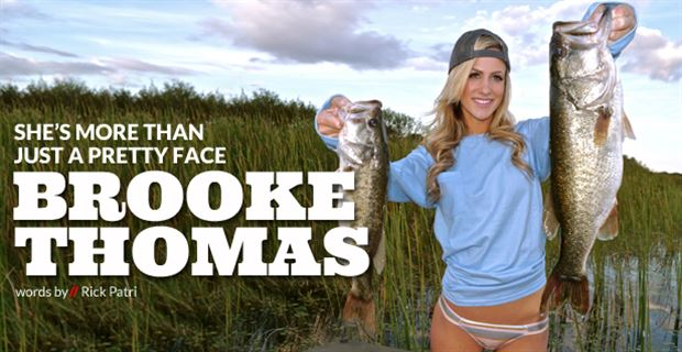 Skilled beauty q a with brooke thomas for Brooke thomas fishing