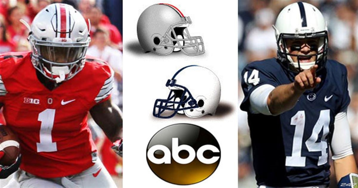 Game Data: Penn State at Ohio State