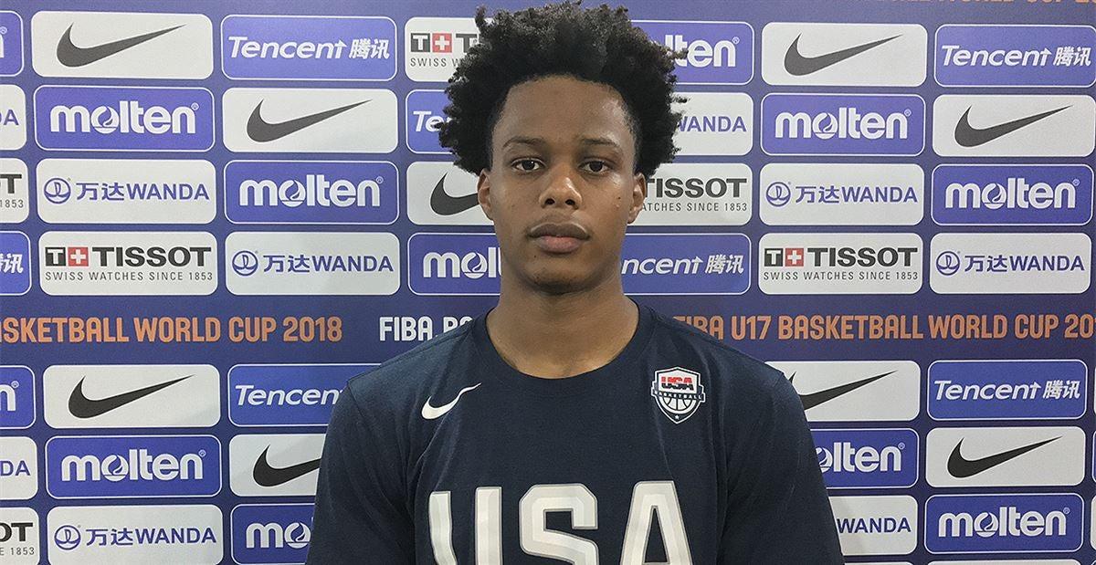 Isaac Okoro: Top 40 2019 SF embracing role with USA at FIBA u17