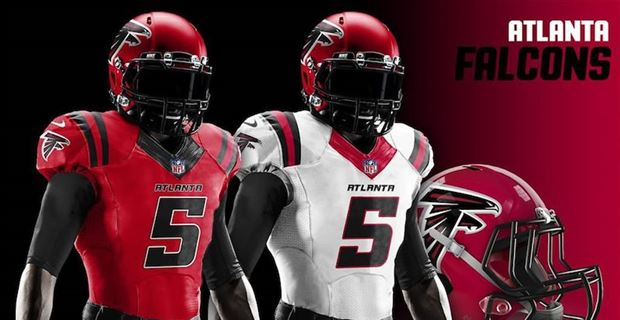 a7e11138 Redesigned uniforms for every NFL team in 2019