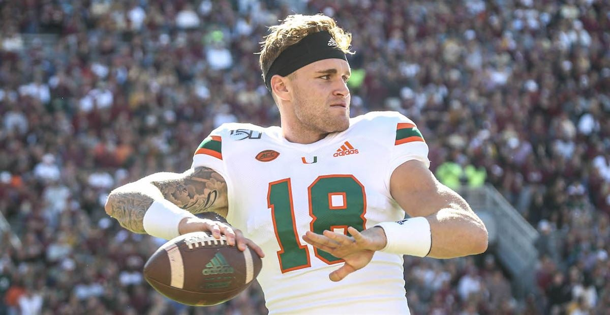 QB Tate Martell not present for Miami's game against FIU
