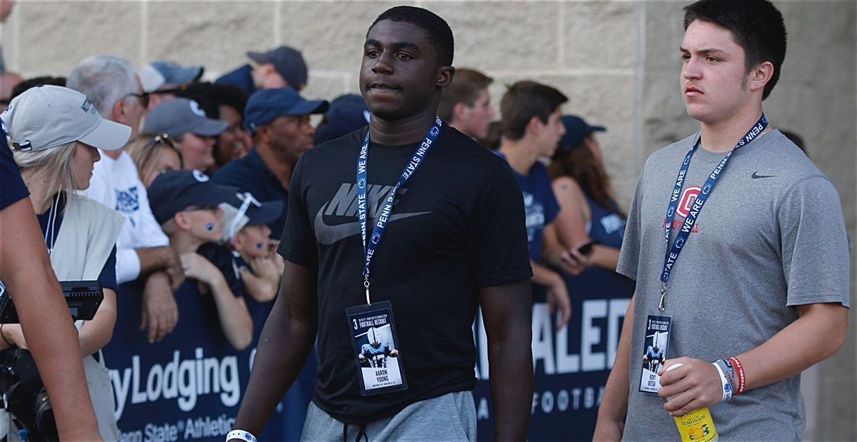 Young sets Penn State visit
