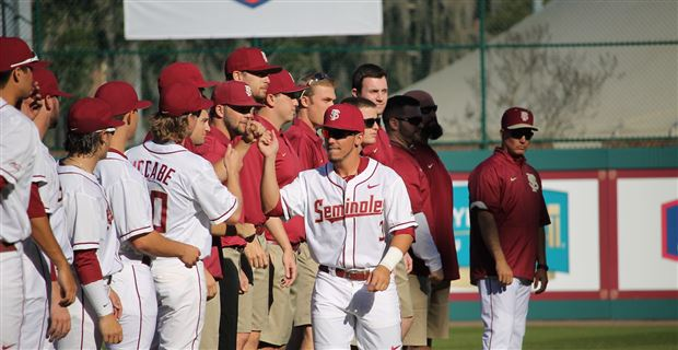 bb63165ae74 Florida State announced that left fielder Gage West has been suspended from  the team indefinitely