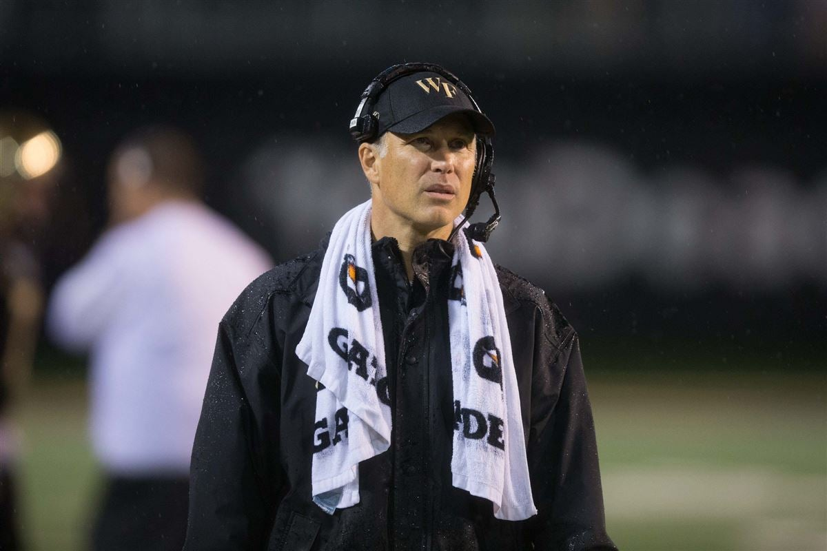 Wake Forest Football welcomes Jim Caldwell to Fall Camp