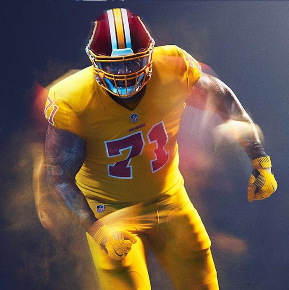 0c4e57a803d Power Ranking the 32 NFL Color Rush Uniforms