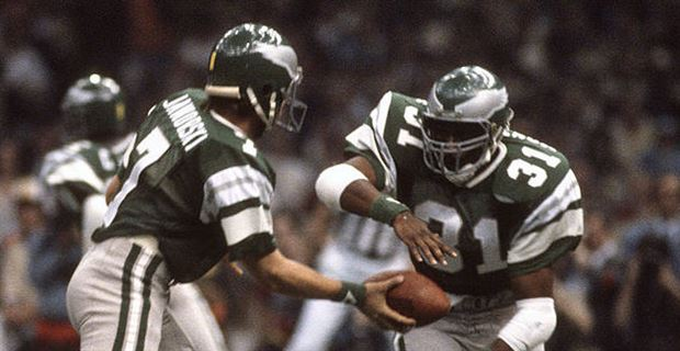 cd00020d ... The Eagles uniforms from the late 70s, early 80s. (Photo: Focus on  Sport, ...