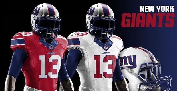 0d1bbcabc37 Redesigned uniforms for every NFL team in 2019