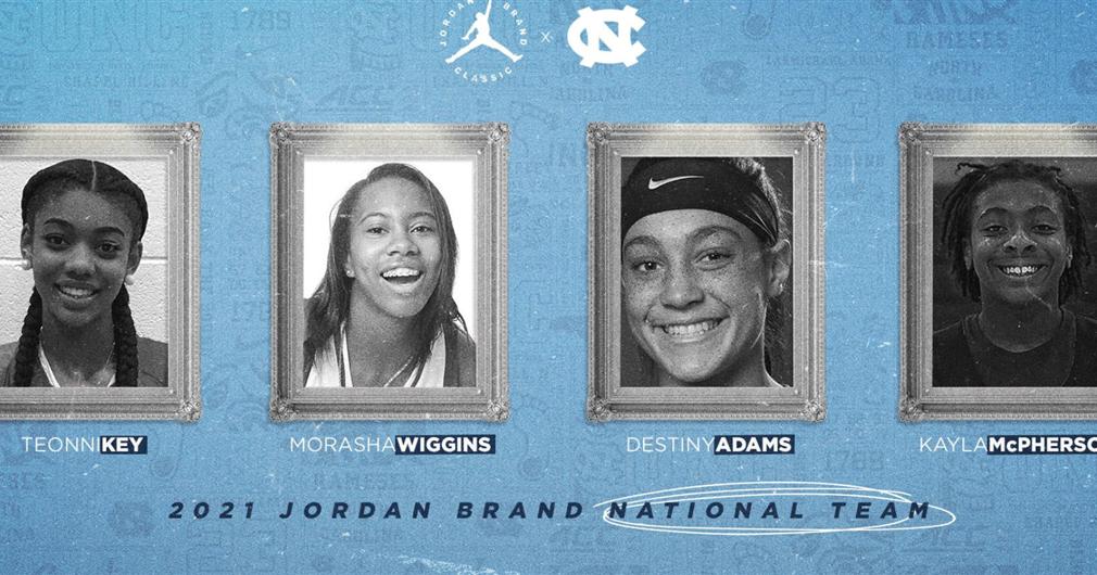 Four UNC Women's Basketball Signees Make Jordan Brand Classic Roster