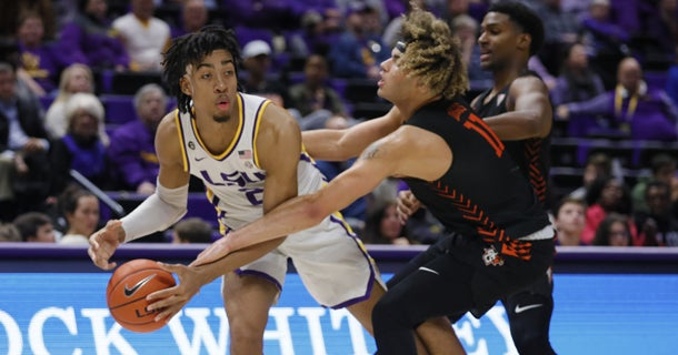 LSU basketball 2020-2021 projections and rankings