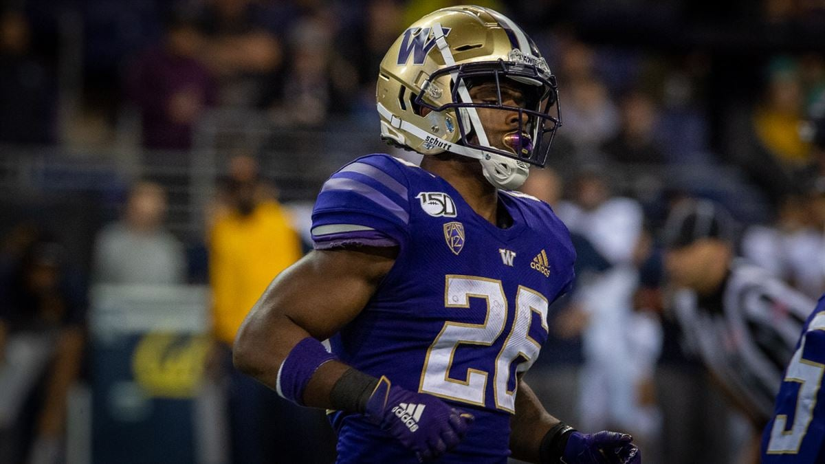 Breaking: Salvon Ahmed out for today's Washington-BYU game