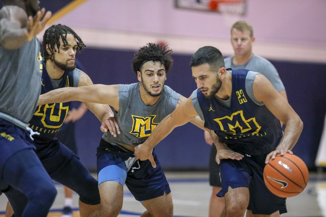 Interview series:  Markus Howard now a 19 yr old veteran Junior