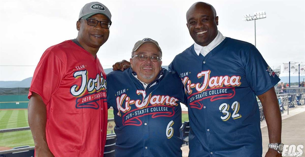 Major PSU football stars pitch in at minor league All-Star event