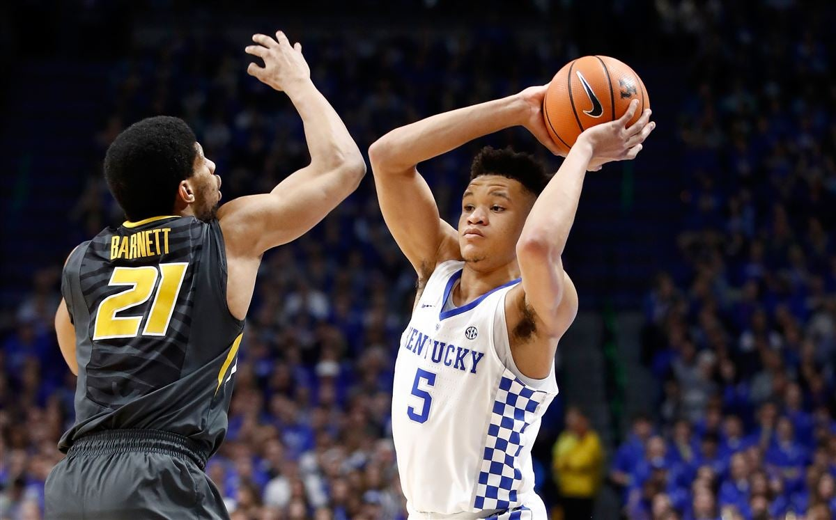 Kevin Knox  never nervous  regarding eligibility f26073d28