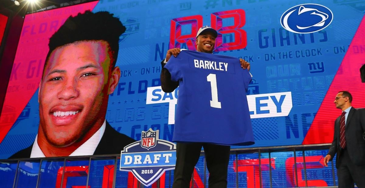 Saquon Barkley continues to lead NFL jersey sales 204221132