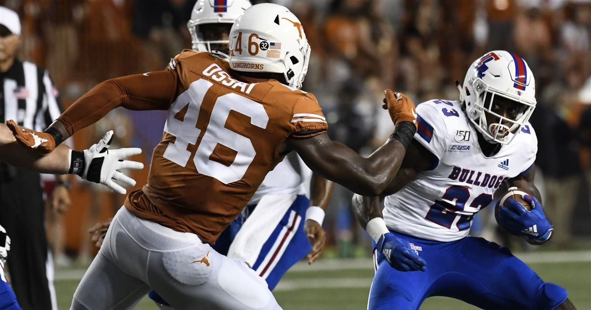 Texas D heading into LSU game striving to play to a standard