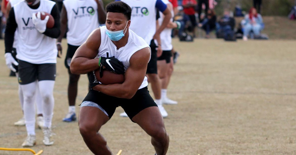 UNC Running Backs Coach Robert Gillespie Excited About Athleticism, Versatility of Caleb Hood