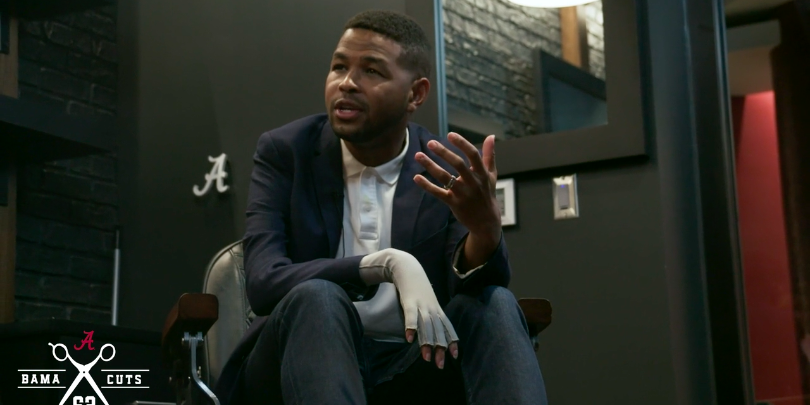 WATCH: Alabama releases Episode 4 of Bama Cuts with Inky Johnson