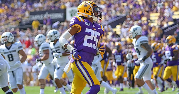 Ed Orgeron goes in-depth on position battles in the secondary