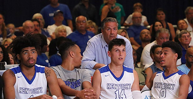 WATCH || Calipari 'not intoxicated' by Bahamas success