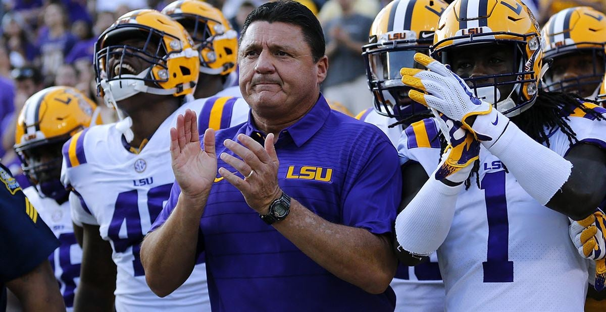 LSU ranked No. 24 in Coaches Poll