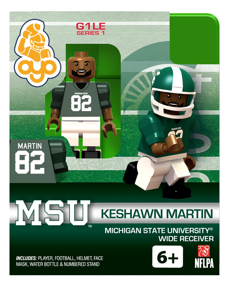 Lego Like Toys : Oyo michigan state football lego like toys