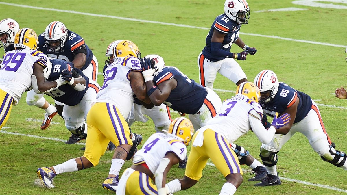 Auburn Offensive Line Hitting Its Stride Heading Into Bye Week
