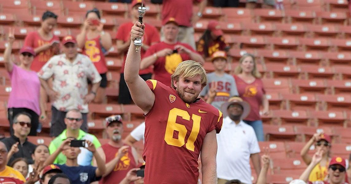 Jake Olson takes hilarious jab at officials