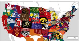 College football schedule for Week 1