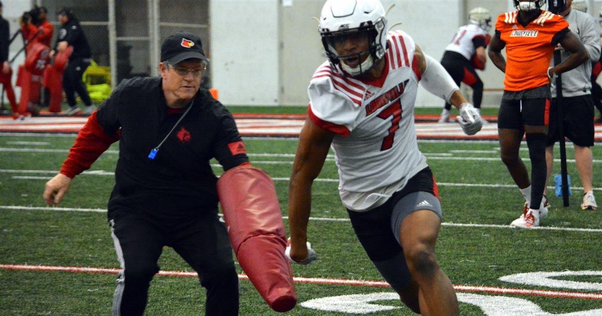 Gunter Brewer discusses Louisville wide receivers