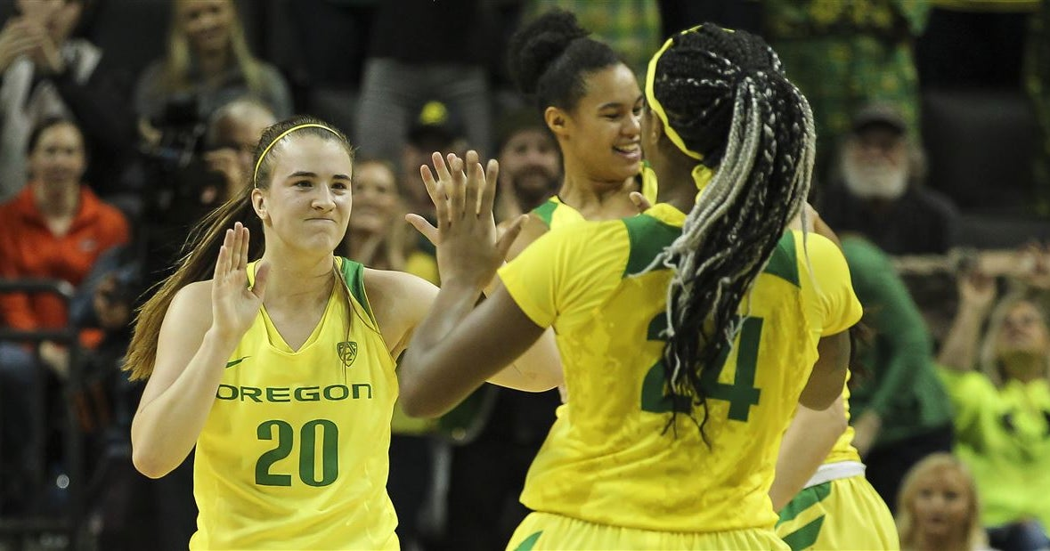 Trio of Ducks in first round of updated WNBA mock draft
