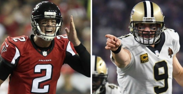 Comparing the NFC South's four starting QBs