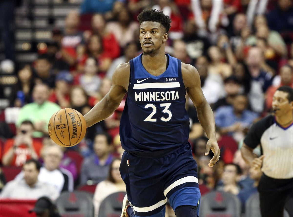 the latest 79c25 0b301 Report: Rockets still in pursuit of Jimmy Butler