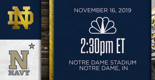 Let's Talk Ball: Notre Dame vs. Navy