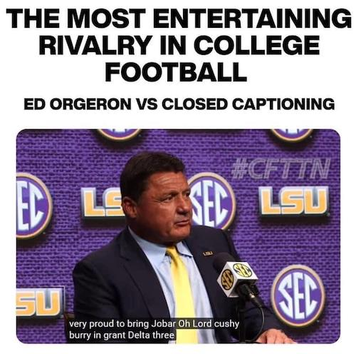 The Best College Football Memes Of 2019