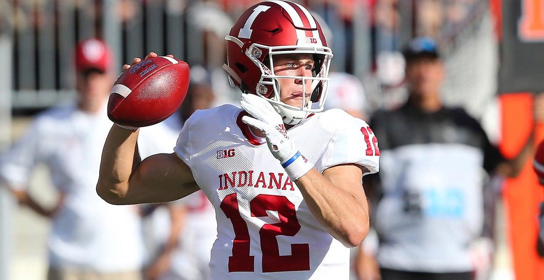 6011d9efef0 Indiana QB Peyton Ramsey (Photo: Joseph Maiorana, USA TODAY Sports)