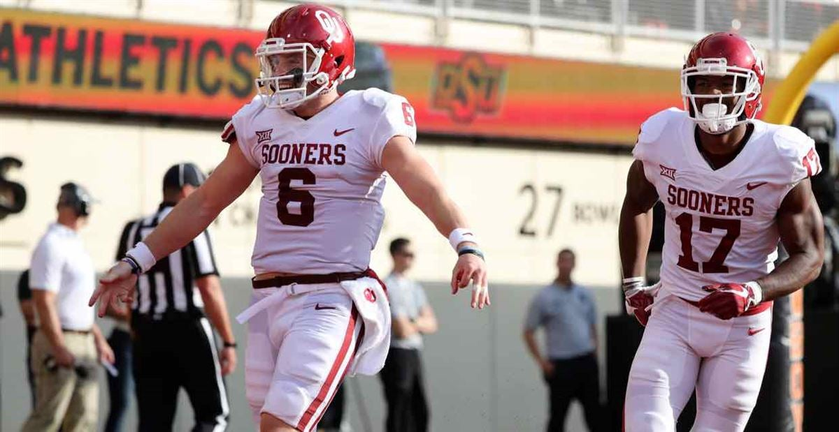 Mayfield tabbed as Big 12 Offensive Player of the Year