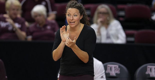 A&M's Kuhn named SEC Volleyball Coach of the Year