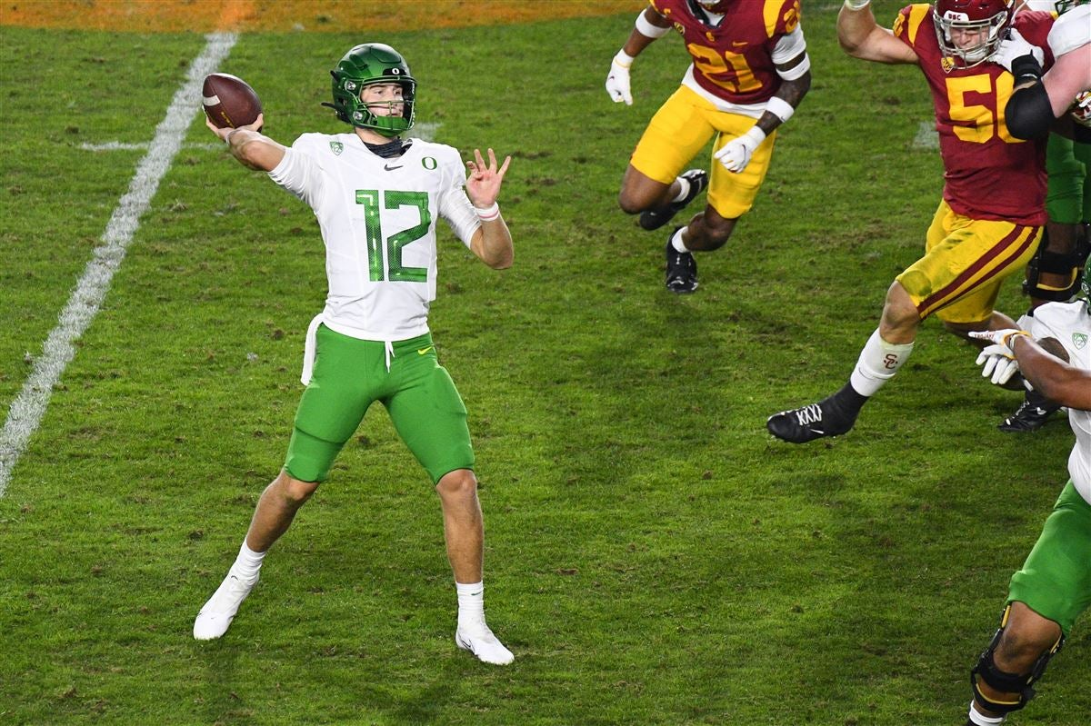 Former Oregon QB Tyler Shough transfers to Texas Tech