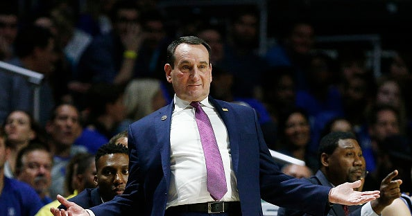 Mike Krzyzewski offers apology to student reporter after Duke loss