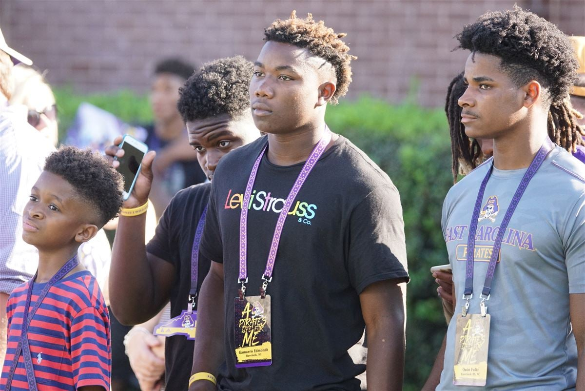 First ECU game a great experience for four-star Kamarro Edmonds