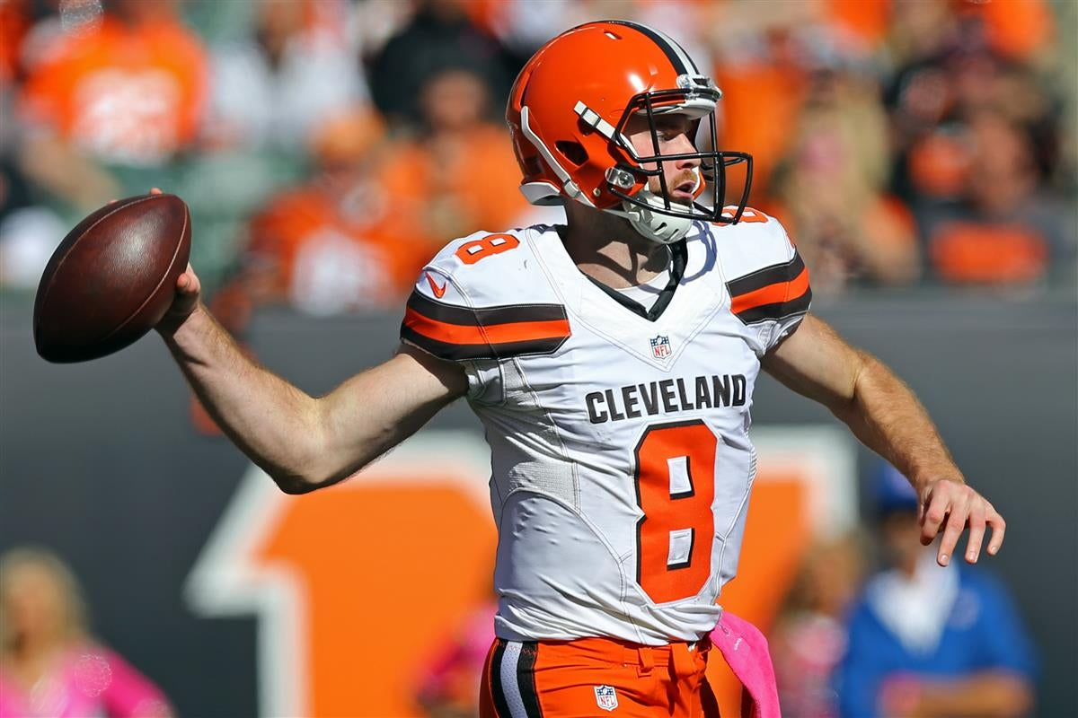 7c599ce92 Browns trade QB Kevin Hogan to Redskins